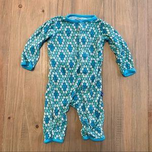 Kickee Pants   Mermaid Print Bum Flap Sleeper